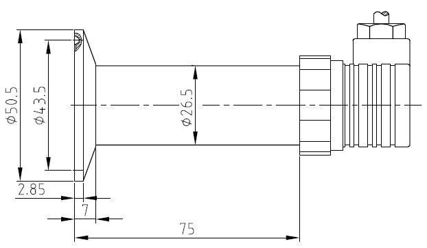 pts508卫生型压力变送器 压力变送器 隔膜式压力变送..