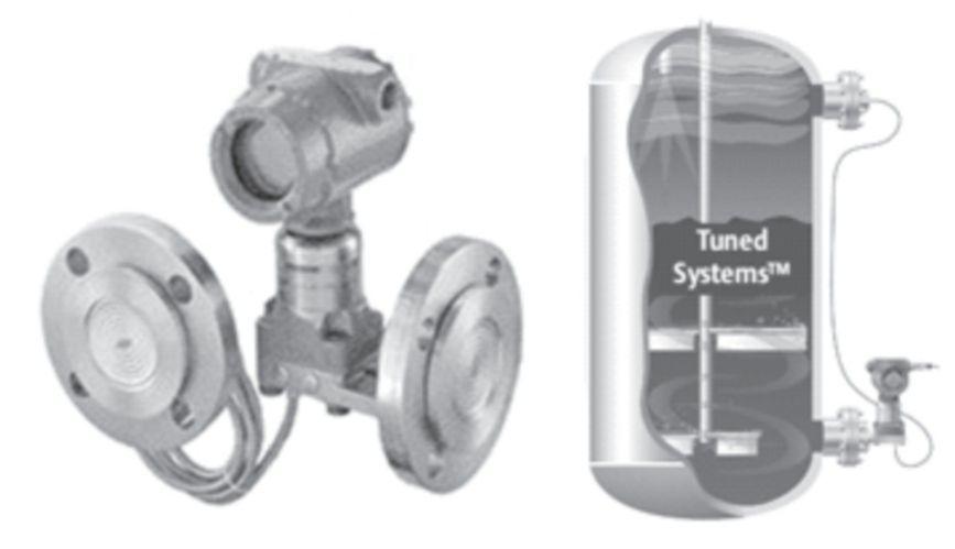 双法兰液位变送器的安装方式